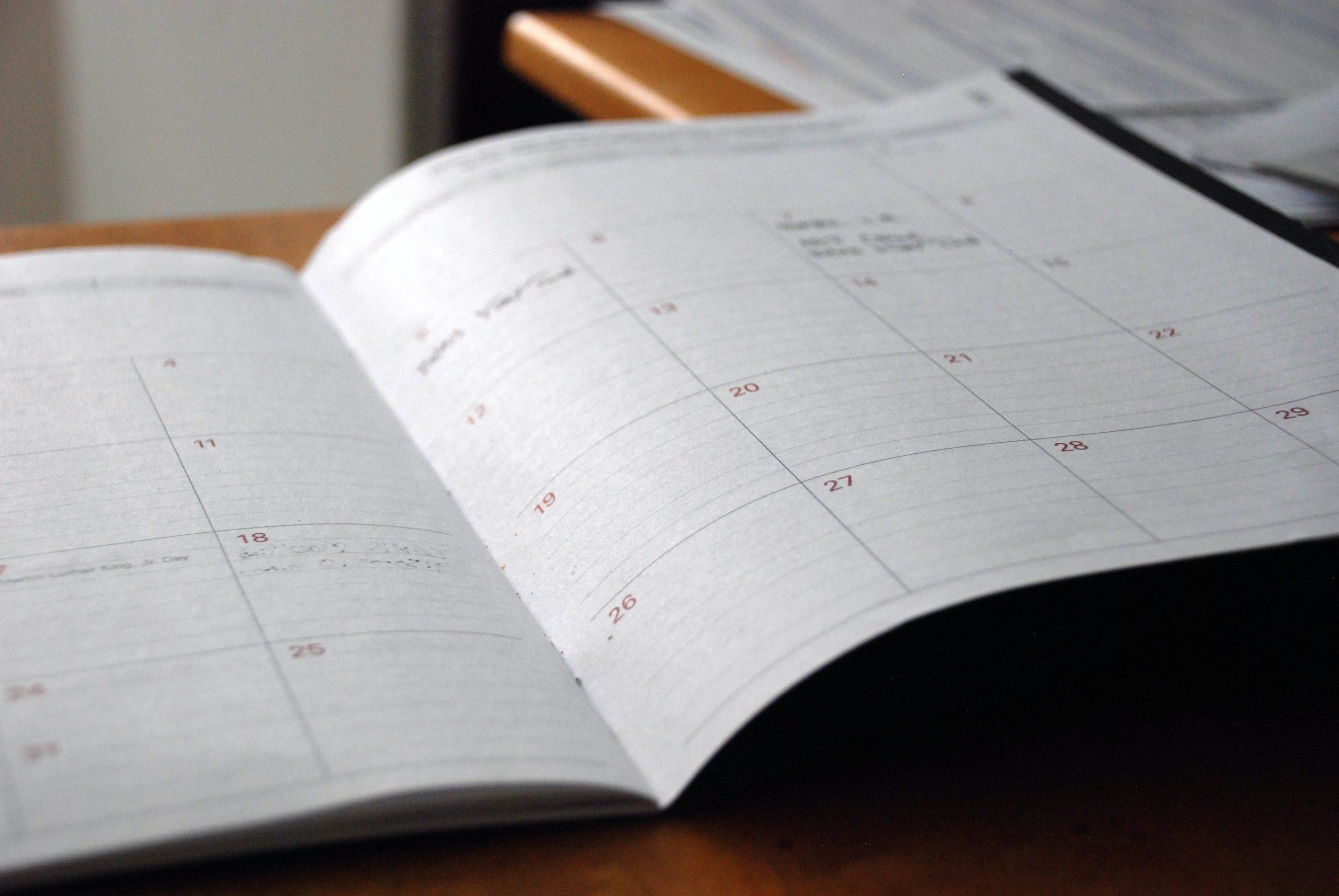 RCIA Calendar
